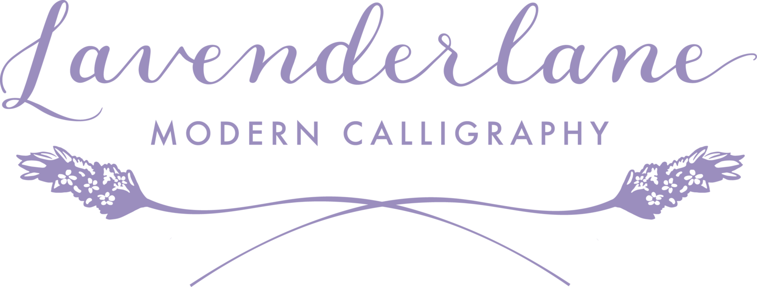 Lavender Lane Calligraphy