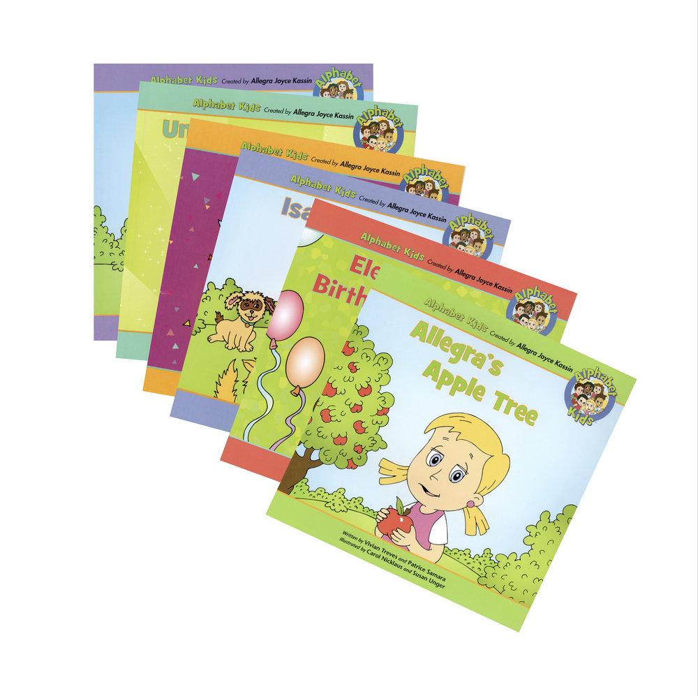 Meet the Alphabet Kids Book Collection