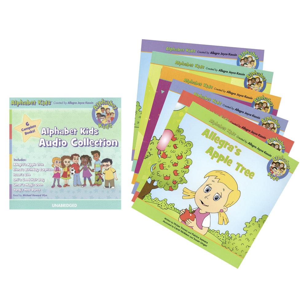 Alphabet Kids Book and Audio Bundle