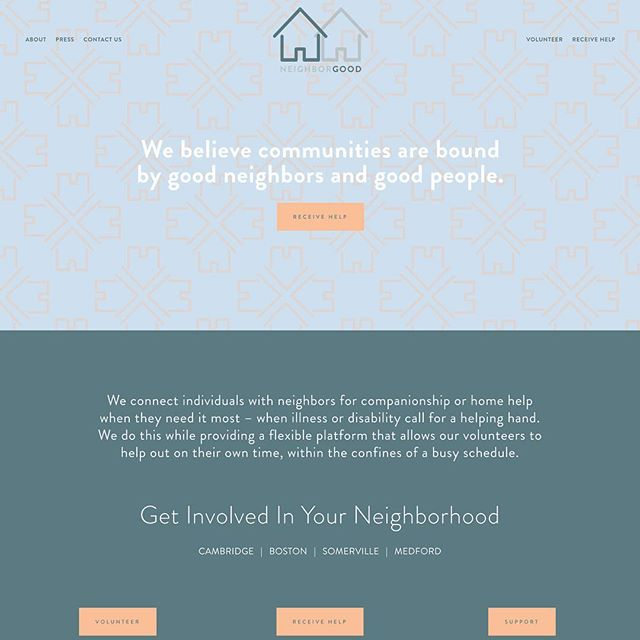 Check out the brand new NeighborGood branding! www.neighborgoodus.com