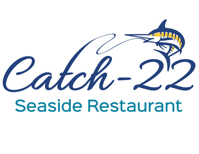 Catch- 22 Seaside Restaurant Logo Fast Casual.jpg