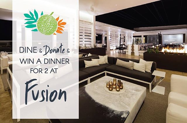 Dine, Donate & Win a dinner for 2 at Fusion Rooftop. Simply take a photo of yourself donating to #Food4Change and upload it to your page with the hashtag #FeedingBarbadosTogether. Make sure your profile is set to public (or you can send it to us directly on Facebook and Instagram) See our Instagram story for more details. #CharityChicks #Barbados #FightingHunger