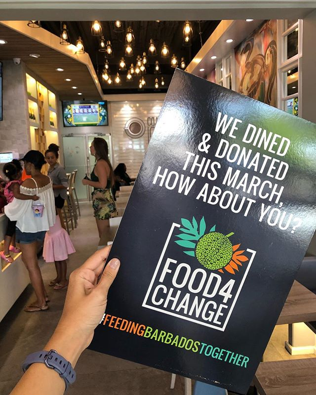 Only 5 days left in March. Have you dined and donated as yet? #Food4Change #CharityChicks