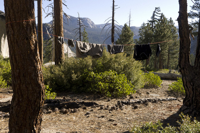Cleaning Clothes in the Backcountry