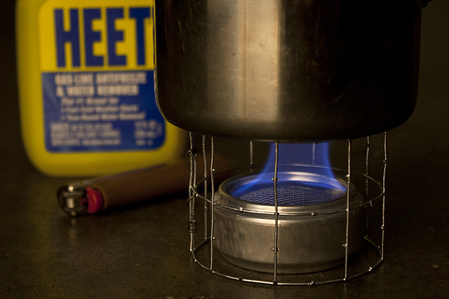 How to Make a Wicking Alcohol Stove