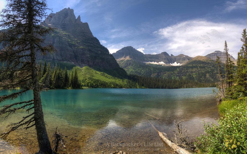 Mokowanis Lake, Glacier NP