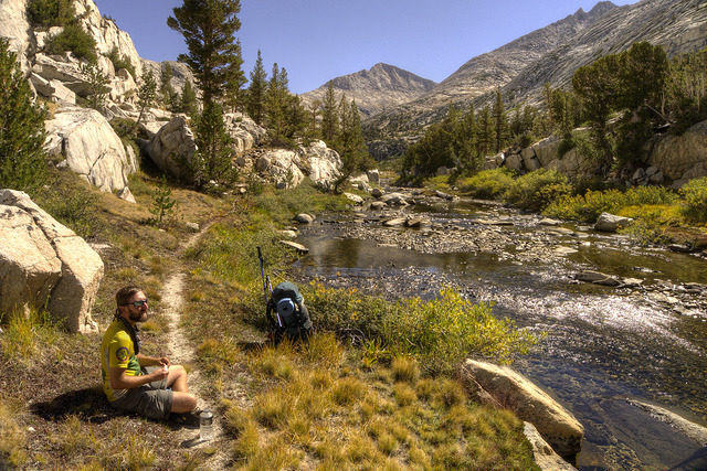 Lightfoot on the John Muir Trail