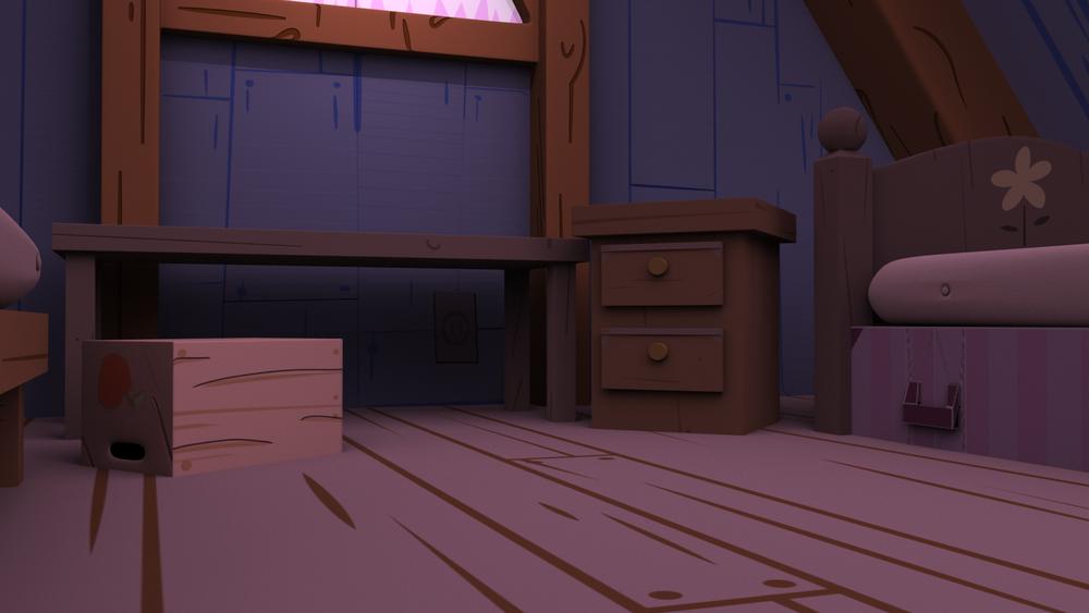 Gravity Falls Bedroom Mock Up - #2