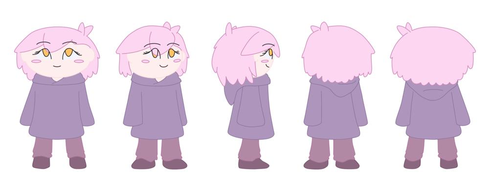 """Luna"" Magic Show - Character Turnaround"