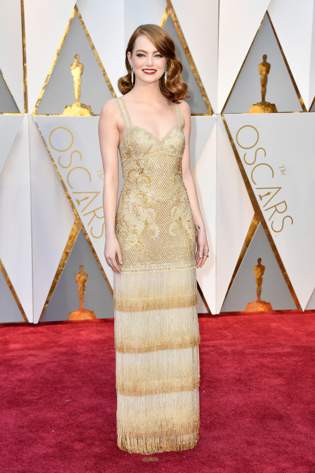 Emma Stone in Givenchy Haute Couture