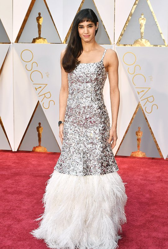 Sofia Boutella in Chanel Haute Couture