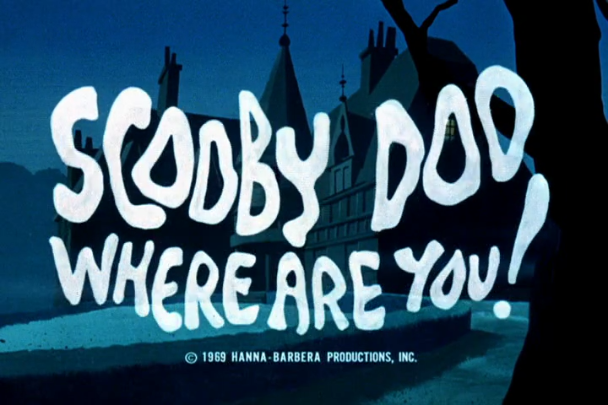 Scooby-Doo, where are you? In almost every scene, that's where.