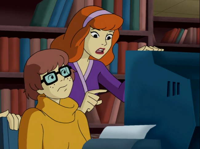 """Velma, I can't believe you've been pretending to be a Navy Seal with over 300 confirmed kills-"""