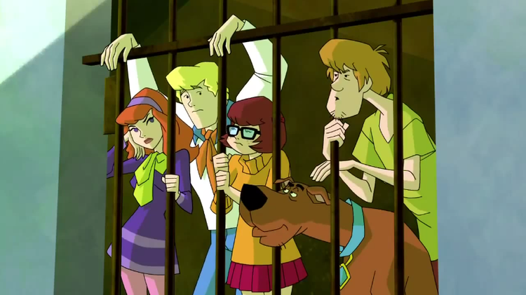 During their early days in pursuit of masked villains the Mystery Incorporated team trespassed into a LOT of private cosplay parties.