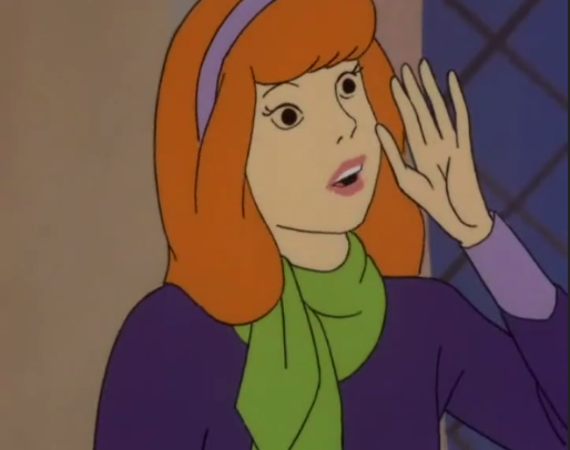 "Daphne: ""Help, my palm is doing that clenching thing again!"""
