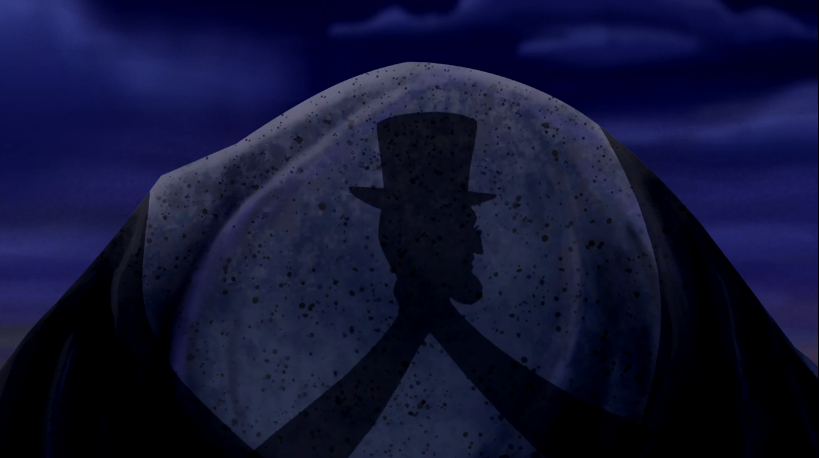 Hanna-Barbera wisely chose to leave the third act of Scooby's  Shadow Puppet Lincoln  un-aired.