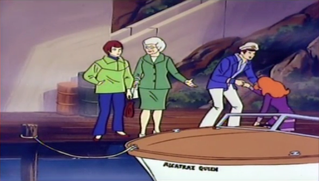 It was much commented upon by Mrs. Cornell that Jack only offered to help Daphne out of the speedboat.