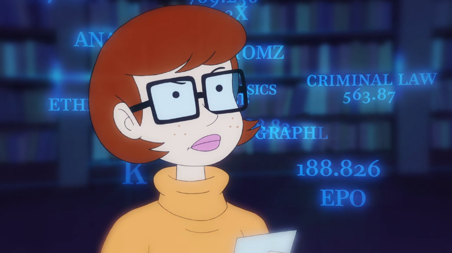 Velma's shopping list used a complex, uncrackable cypher.