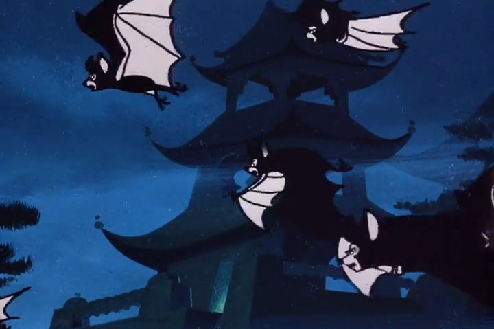 "Animator: ""So how are we going to make the bats sound Chinese?""  Sound Engineer: ""Do you really think that's necessa-""  Animator: ""HOW ARE WE GOING TO MAKE THE BATS SOUND CHINESE-"""