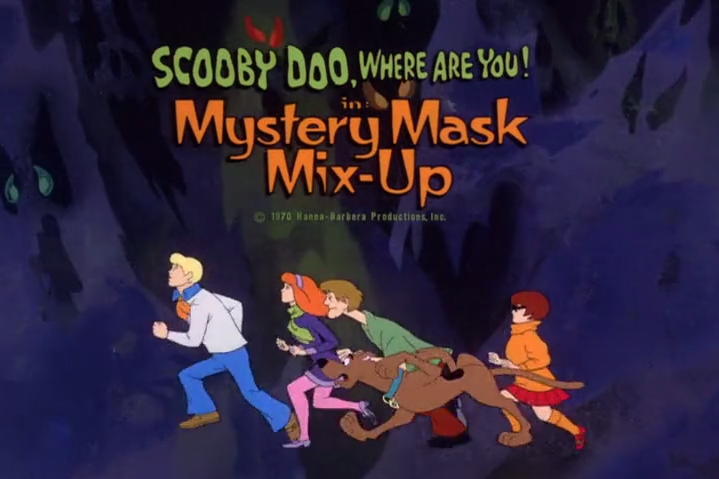 "Scooby-Doo, Where Are You!  - Season 2, Episode 2: ""Mystery Mask Mix-Up"" - Title Animation by Unknown"