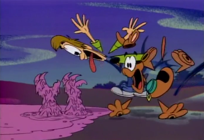 A Pup Named Scooby-Doo  was pretty much the same in the Rayman universe, with a few key differences in character design.