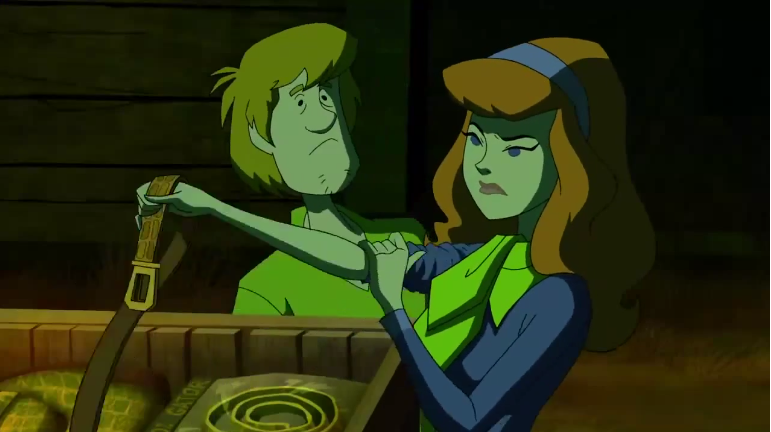 Shaggy would later come to regret asking how a belt could even be used for a fetish.