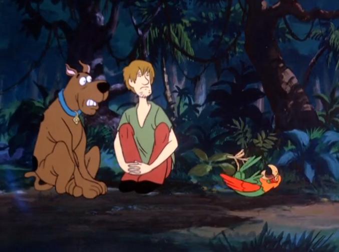Scooby's little-known worst fear is getting belittled by talking birds.