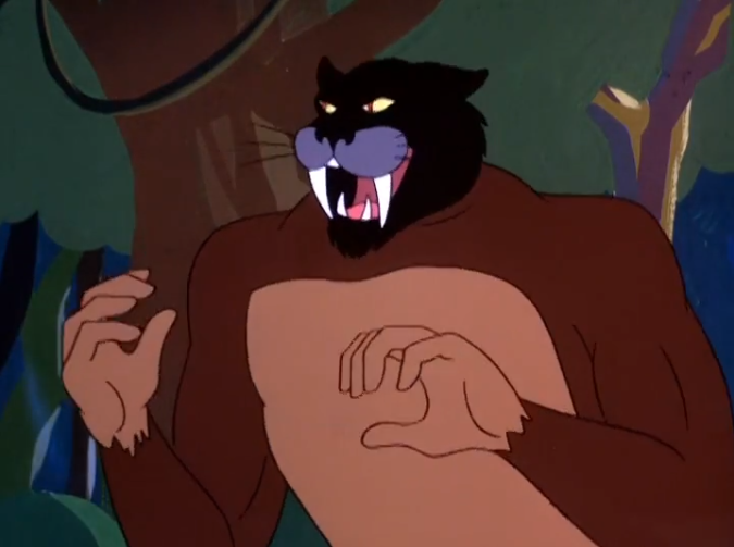 Did we mention that the ape part of the Jaguaro knows sign language? It's actually very fluent.