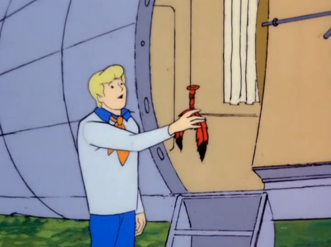 """Fred: """"That's my fetish!"""""""