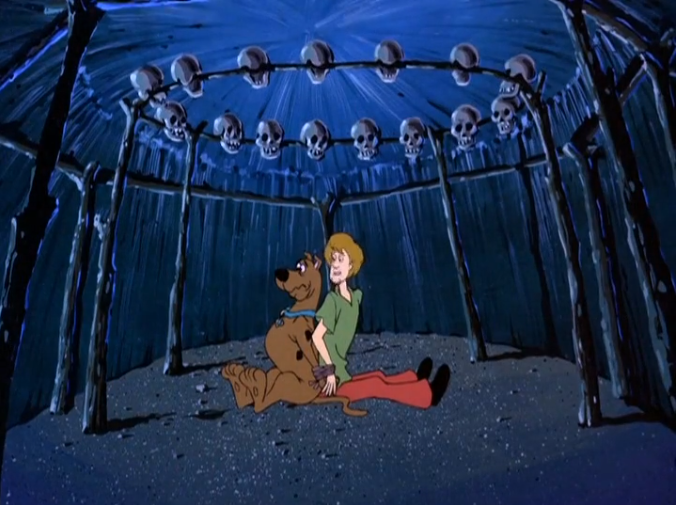 """Shaggy: """"All I'm saying is we're definitely in one of the  nice  huts."""""""