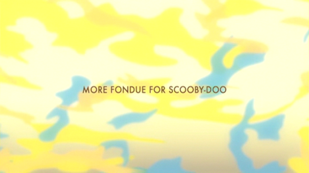 "Shaggy & Scooby-Doo Get a Clue!  - Season 1, Episode 2: ""More Fondue for Scooby-Doo"" - Title Animation by Unknown"