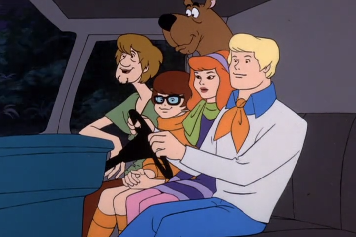 Fun historical fact: this episode aired prior to the invention of seatbelts.