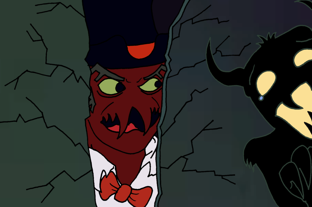 "Scooby Dudes  - Episode 31: ""Me and My Shadow Demon"" - Title Card by Evan Yeong"