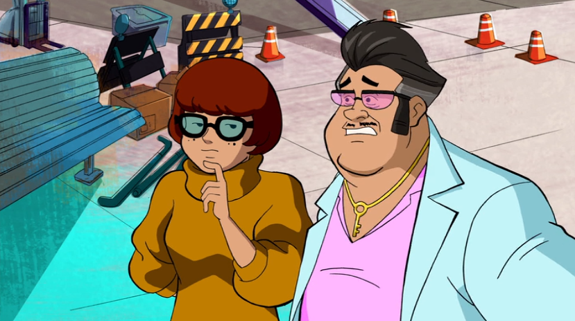 Velma considers the outside possibility that Kurt is merely extremely inordinately creepy and not a literal criminal.