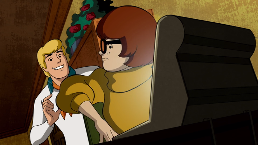 Velma immediately regretted asking for Fred's help on the Inter NET .