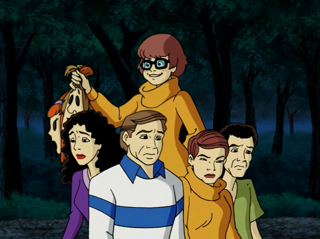 "Sure, the devil had put an otherworldly hit out on the gang. But Velma knew better than anyone that the devil could be fooled.  ""Jinkies,"" she whispered to the hikers in the center of the pentagram."