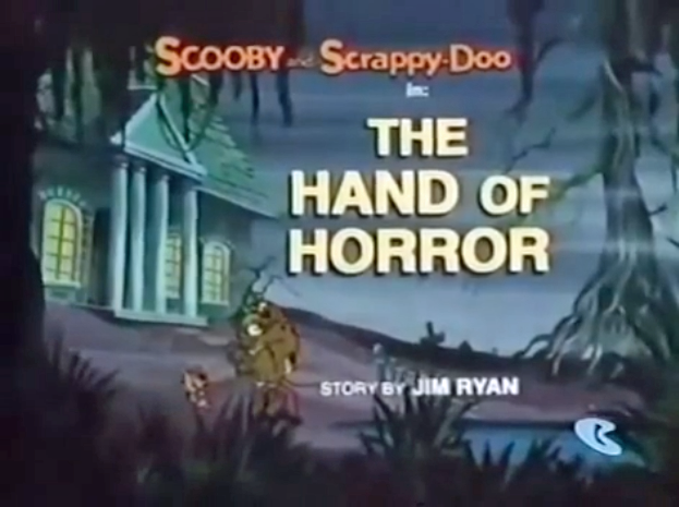 "The New Scooby-Doo Mysteries  - Season 1, Episode 2: ""The Hand of Horror"" - Title Card by Unknown"