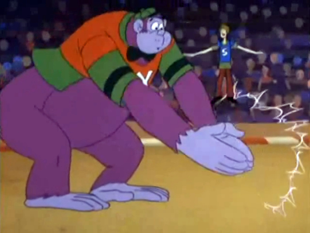 "Not entirely unlike Muhammad Ali, Shaggy's fighting style is to ""Float like a butterfly, sting like a butterfly."""
