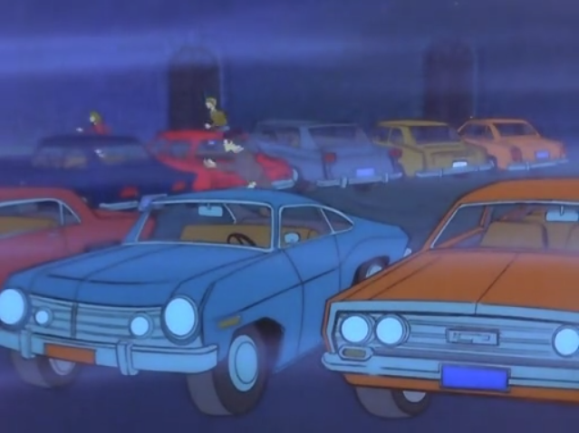 """Animator Boss: """"How are those cars in the opening scene coming?  Animator: """"Real good boss! Each one is distinct, and is available to purchase in Europe. Now I'm just tracking down actual, street-legal Scottish license plates to pencil in.""""  Other animator: """"Aren't there, like, other scenes in this episode?"""""""