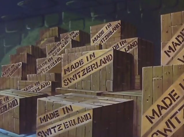 Every year, millions of crates are exported from Switzerland and sent all over the world. This is because the Swiss are well-known for their craftsmanship when it comes to making boxes.