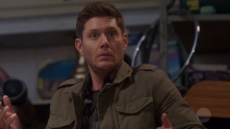 """Dean """"Jensen"""" Acklechester hears his brother Sam Padaleckchester say that Scooby-Doo is lame."""
