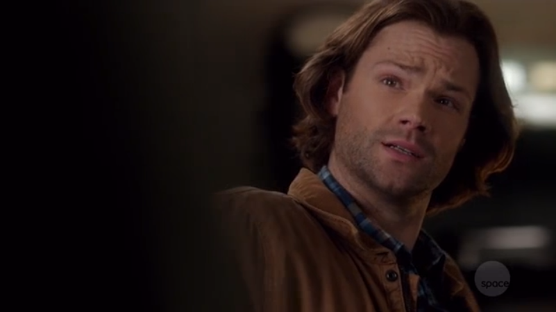 """Sam: """"What are you talking about, Dean?We're brothers. No-one would taint that with sexy slash fiction about us."""""""