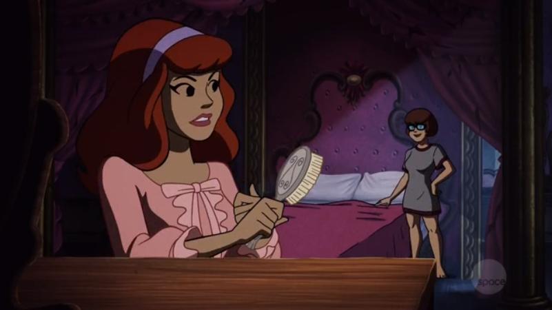 "Daphne-san: ""Velma-kun, do you think that Sam-senpai is  kawaii ?"""