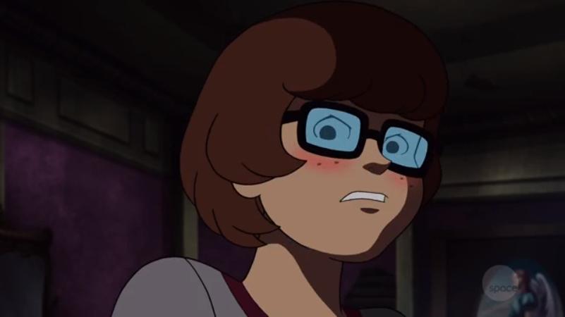 "Velma-san: ""Th- that  baka ! I will never show him my magical princess gem transformation powers!"""