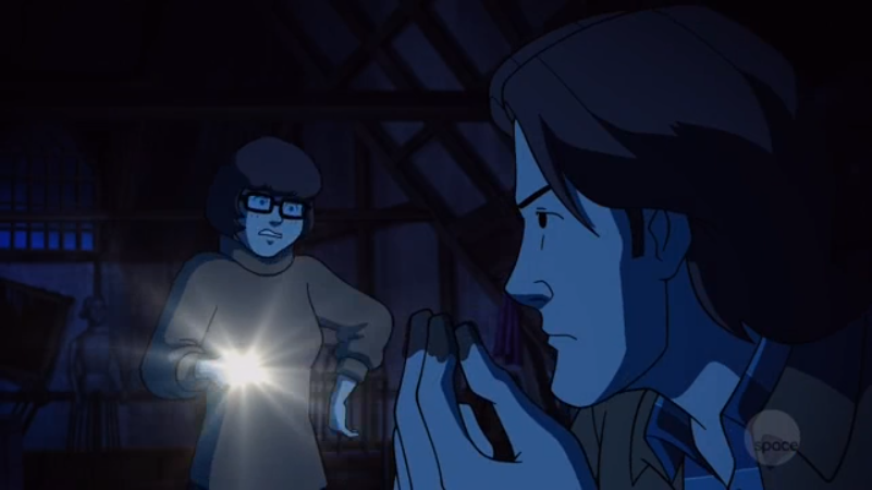 Sam and Velma reenact how a married couple  shouldn't  discuss cleanliness around the home.