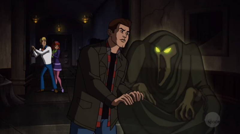 Dean is so handsy in this episode that he manages to non-consensually grope an INTANGIBLE, ETHERERAL SPECTER.