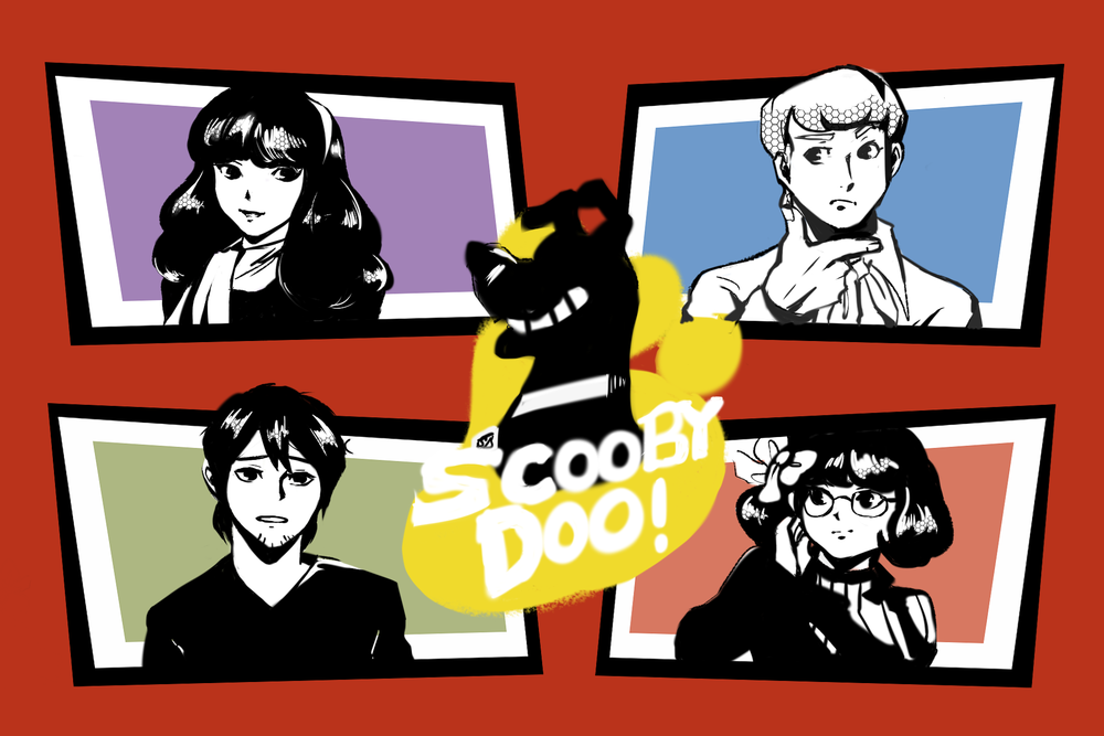"""Scooby Dudes  - Episode 45: Revenge of the Man Crab"""" - Title Card by Tam"""