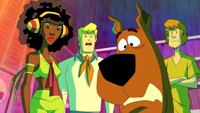 Scooby, Shaggy, Fred, and Angel Dynamite realize just how often you clean your keyboard.