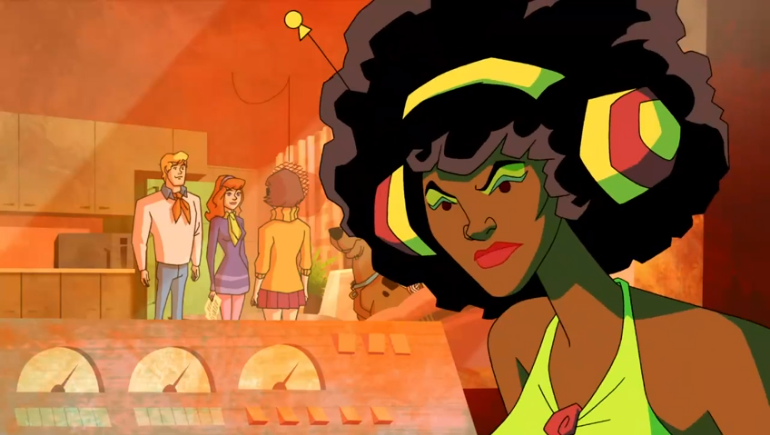 A screenshot from the latest Netflix Original,  White People: The Animated Series .