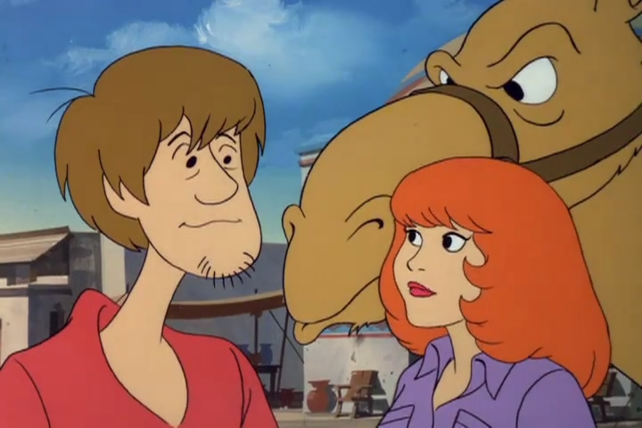 As much as Shaggy and Daphne felt inexplicably drawn to each other, they couldn't help but feel that now wasn't the right time.